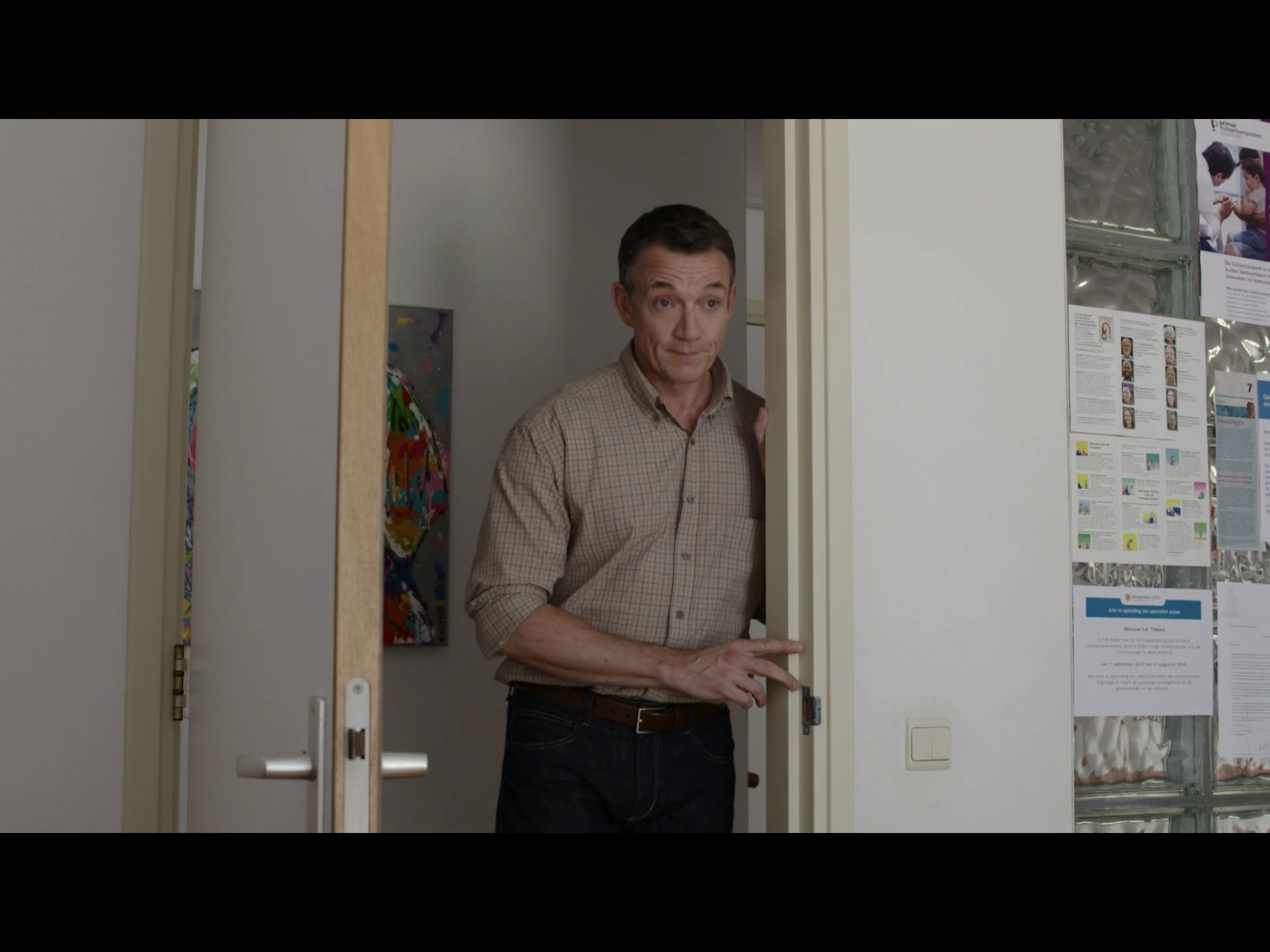 Paul Groot in K van karlijn tvserie